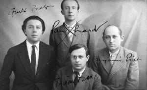 El grupo dadaísta en 1920.