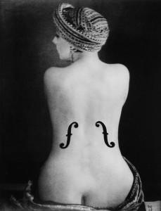 El violín de Ingres por Man Ray.