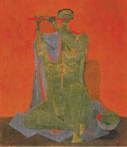 El flautista, 1944.